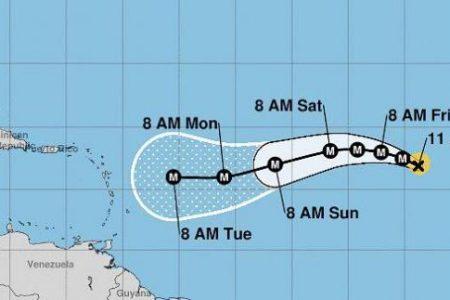 Pronostican que esta noche Irma será un poderoso huracán