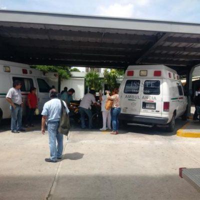 Por conato de incendio, desalojan hospital regional del Issste en Pensiones