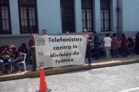Unos mil telefonistas suspenden labores en Yucatán