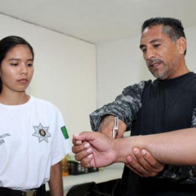 Kanasín ya prepara a sus nuevos policías