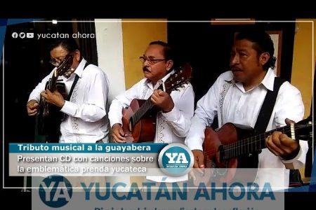 Las canciones de trova se habían olvidado de la guayabera yucateca