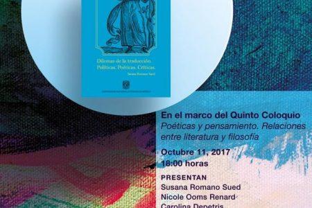 UNAM presenta en Mérida libro sobre la importancia de la traducción literaria