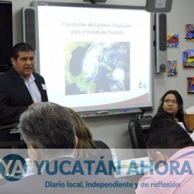 Listas las medidas de seguridad por si depresión tropical golpea Yucatán