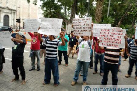 """""""Jaguares"""" denuncian que por política les bloquean concesiones en Ticul"""