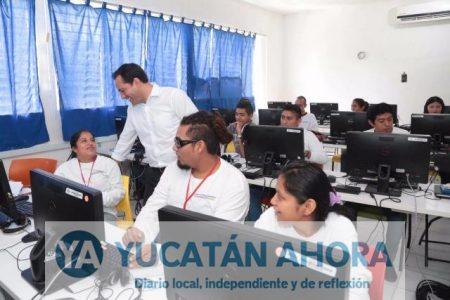 Unos 100 jóvenes del Sur alimentan el geoportal del Ayuntamiento de Mérida