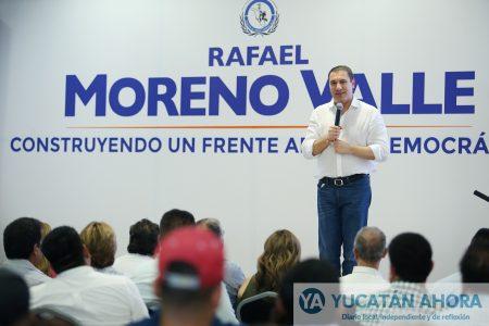 Moreno Valle: La imposiciones generan divisiones