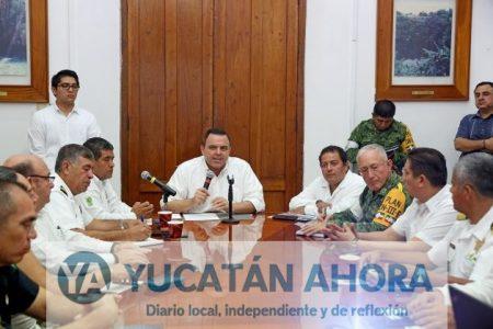 Despliegan brigadas al oriente de Yucatán ante el paso de Nate