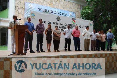 Abarcan más escuelas de Progreso con el proyecto para erradicar la violencia