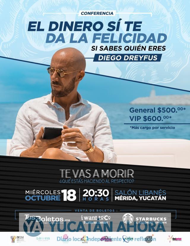 Poderoso influencer de negocios se presentará en Mérida