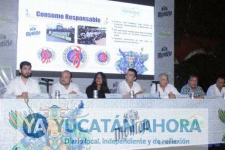 Presentan el cartel musical de Cerveza Montejo en la Feria Yucatán 2017