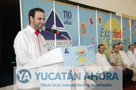 Variedad de productos, servicios y artículos en promoción en la Expo Feria del Comercio