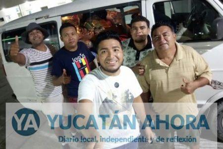 De Yucatán a Oaxaca llevan alivio a los olvidados del desastre