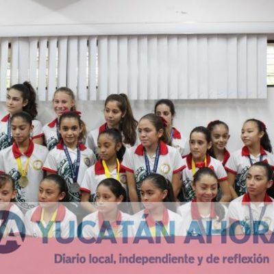 Yucatecas traen oro y plata del Panamericano de Gimnasia