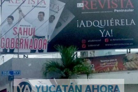 Consejero pide al IEPAC que investigue espectaculares de Mauricio Sahuí