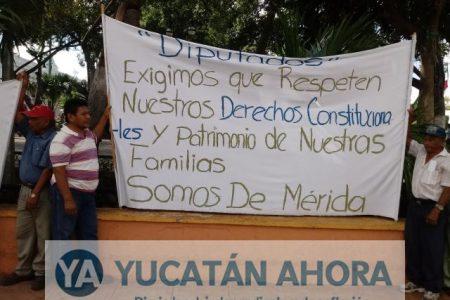 Protesta San Antonio Kaua III, no quieren pertenecer a Kanasín