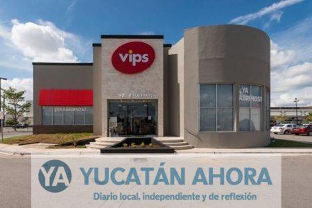 A 17 años de llegar a Mérida, Vips renueva imagen e inaugura otro restaurante