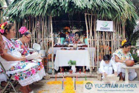 El Día de Muertos en Mérida, cada vez más festivo