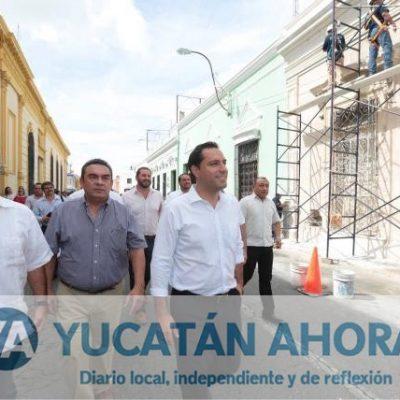 Rescatarán más fachadas en el Centro Histórico de Mérida