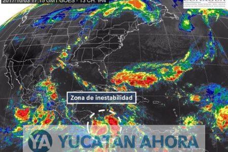 Vigilan zona de inestabilidad en el Mar Caribe