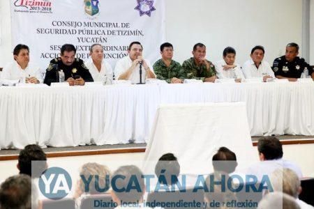 Anuncian escudo tecnológico contra los delincuentes en Tizimín