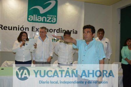 Relevo en la presidencia estatal de Nueva Alianza