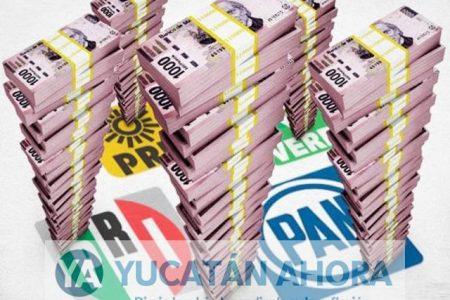 Partidos políticos se ajustarán el cinturón en Yucatán, incluso en 2018