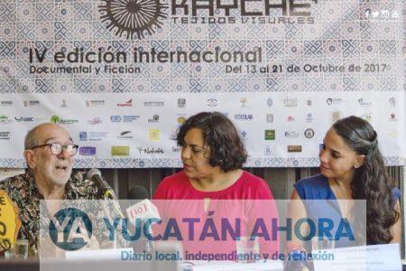 Anuncian en Mérida el IV Festival Internacional de Cine y Video Kayche'