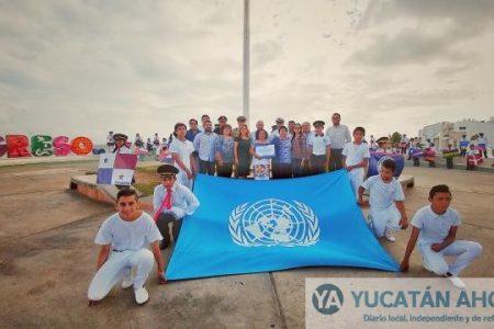 Estudiantes de Progreso celebran el Día de la ONU