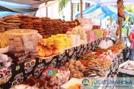 Desde hoy ambulantes ofrecen dulces de azúcar en el centro de Mérida
