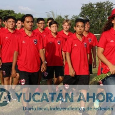 Inauguran la Liga de Futbol Juvenil Estatal