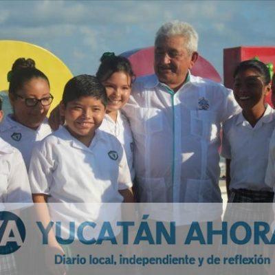 Estudiantes y autoridades celebran el Día de la Raza en Progreso