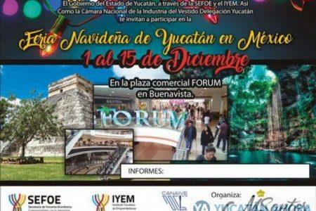 Realizarán Feria Navideña de Yucatán en México