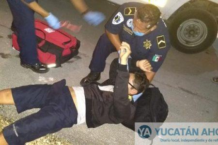 Víctima y victimario terminan en el hospital