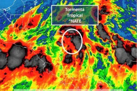 Depresión tropical se convierte en la tormenta Nate