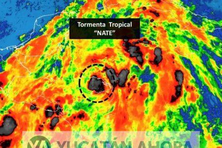 Nate se enfila hacia la Península de Yucatán; llega este viernes