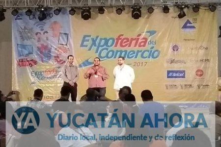 Realizan primeras actividades de la Expoferia del Comercio 2017