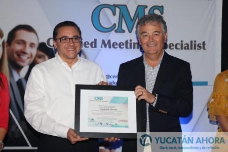 """La firma """"Latinoamérica Convenciones"""" certifica a Mérida como Destino CMS"""