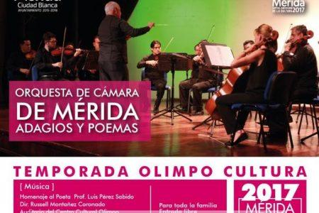 Agenda de actividades culturales en Mérida