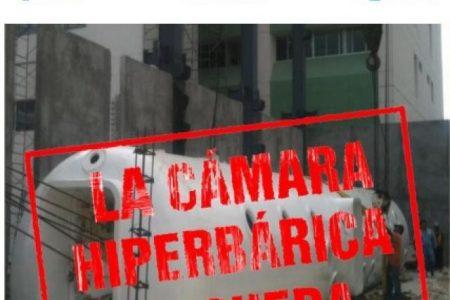 La cámara hiperbárica se queda en Yucatán