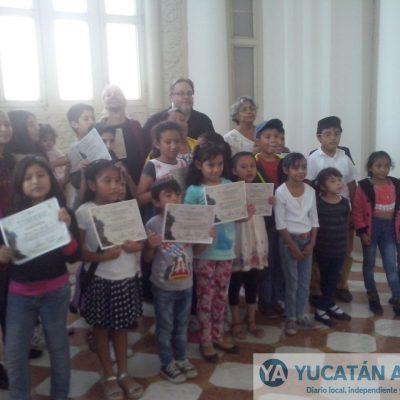 Infantes de Mérida y Mayapán participan en taller de dioses mayas