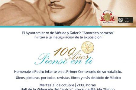 Anuncian homenaje a Pedro Infante a 100 años de su nacimiento