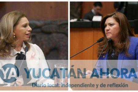 Senadoras yucatecas, las más viajeras en la Cámara Alta