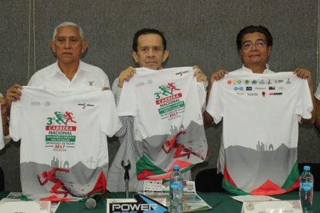 """Presentan la III Carrera Nacional """"Moviendo a México por tu salud"""""""