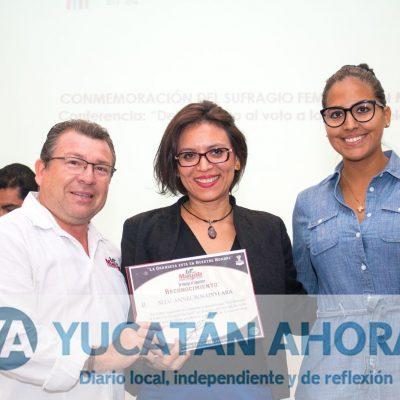 IPIEMH conmemora aniversario del voto para la mujer en México