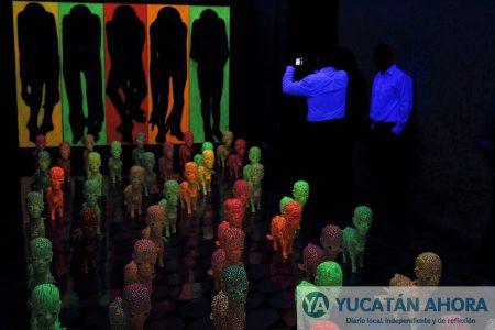'Psico-seres de acción onírica, instalación' de Rubén Maya en la Fundación de Artistas
