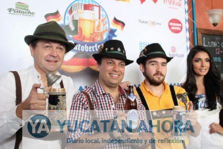 Este viernes inicia la fiesta alemana en Mérida