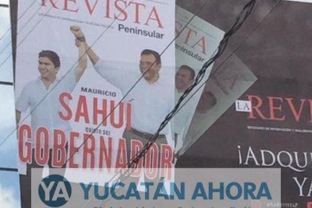 Mauricio Sahuí niega que haya pedido el voto en sus espectaculares