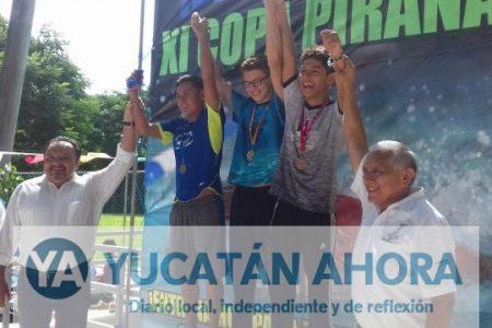 Inauguran la 11ª. Copa Pirañas 2017 en la alberca del Kukulcán