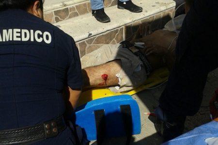 Otro caído: en Boxito del centro de Mérida