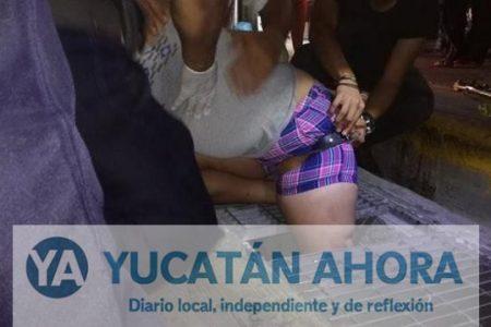 """La """"jala"""" el payaso Eso en una alcantarilla del centro de Mérida"""